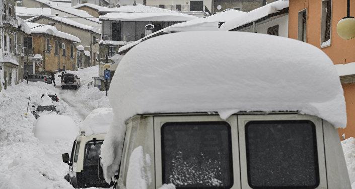 La nieve en Italia