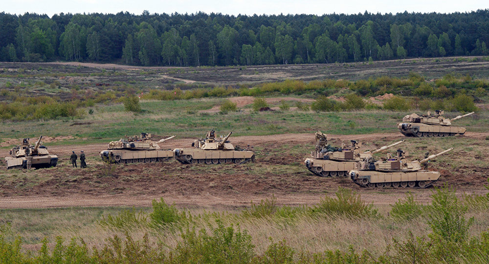 Tanques estadounidenses (archivo)