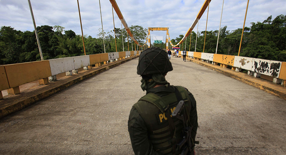 Frontera entre Colombia e Ecuador (archivo)