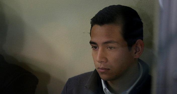 Jose Manuel, hijo de Jimmy Morales, presidente de Guatemala