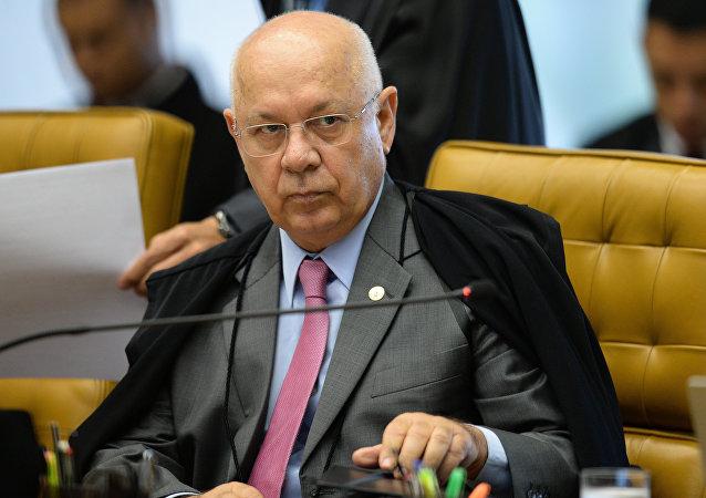 Teori Zavascki, juez brasileño de Lava Jato (archivo)
