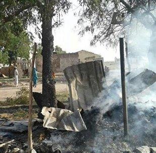 Consecuencias del bombardeo en Nigeria