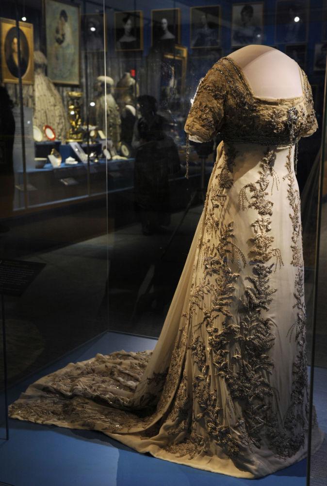 El vestido para el baile inaugural de Helen Taft en 1909