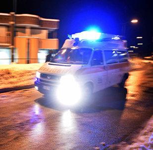Una ambulancia italiana