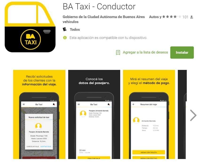 BA Taxi
