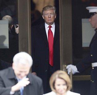 Así fue la ceremonia de investidura de Trump