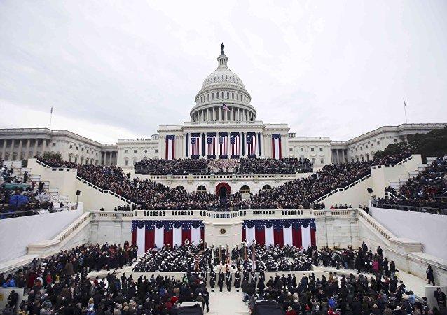 La ceremonia de investidura de Donald Trump
