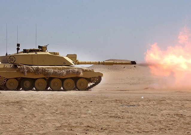 Tanque británico Challenger 2 (archivo)