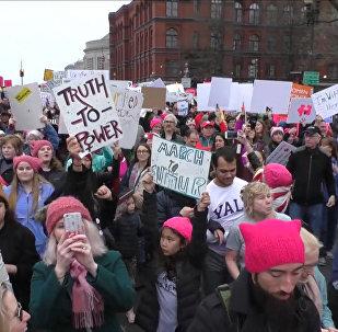 Protestas multitudinarias contra Donald Trump en el mundo