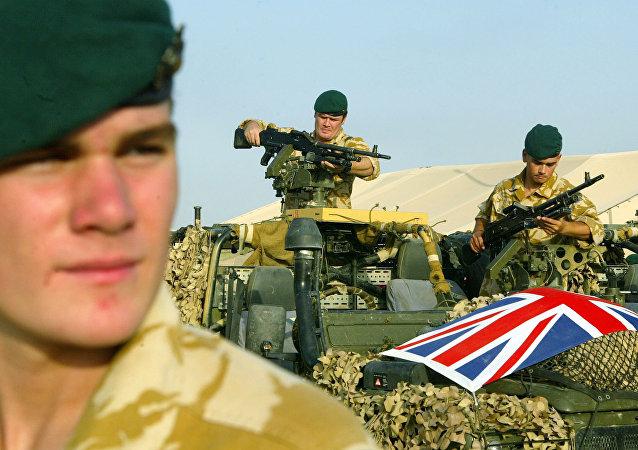 Un soldado británico en Irak (archivo)
