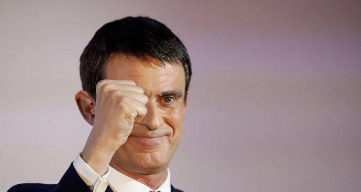 Manuel Valls, ex primer ministro francés  (archivo)
