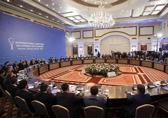 Las consultas sirias en Astaná