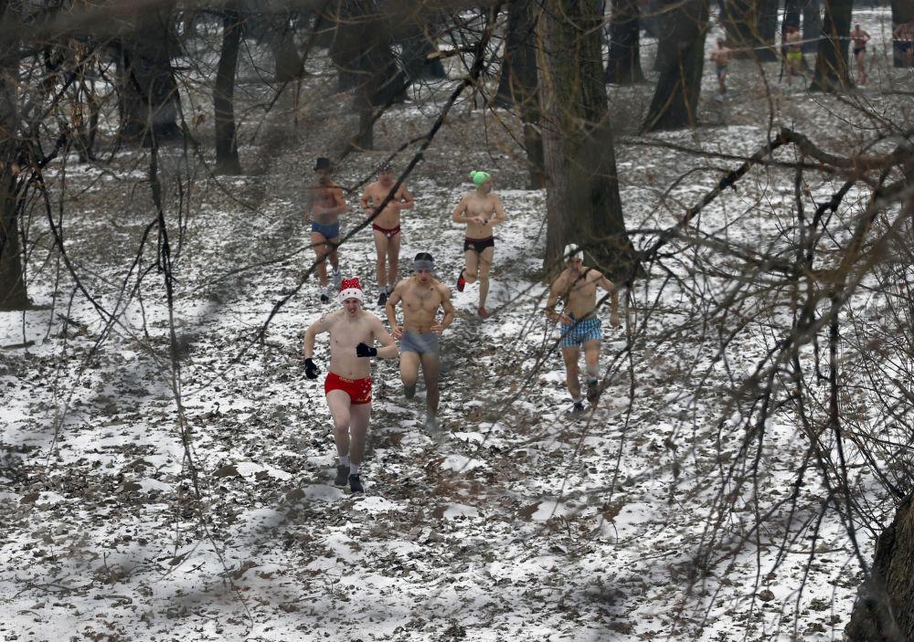 Retando al frío: bajo cero en ropa interior