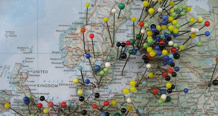 El mapa de Europa (archivo)