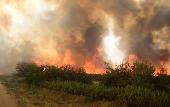 Un incendio devasta más de un millón de hectáreas en Argentina