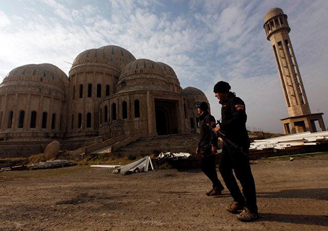 Fuerzas antiterroristas de Irak en la ciudad de Mosul (archivo)