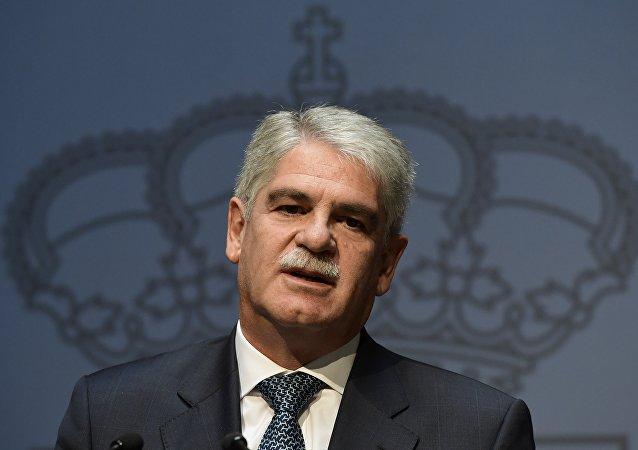 Alfonso Dastis, canciller de España