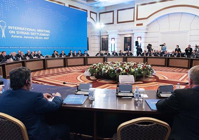 Las negociaciones en Astaná