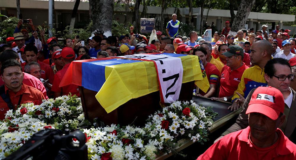 Maduro encabeza acto en honor a Fabricio Ojeda