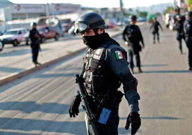 Agentes federales mexicanos (archivo)