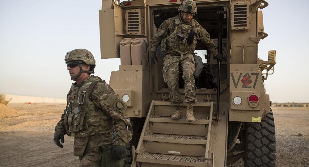 Soldados estadounidenses en Oriente Medio (archivo)