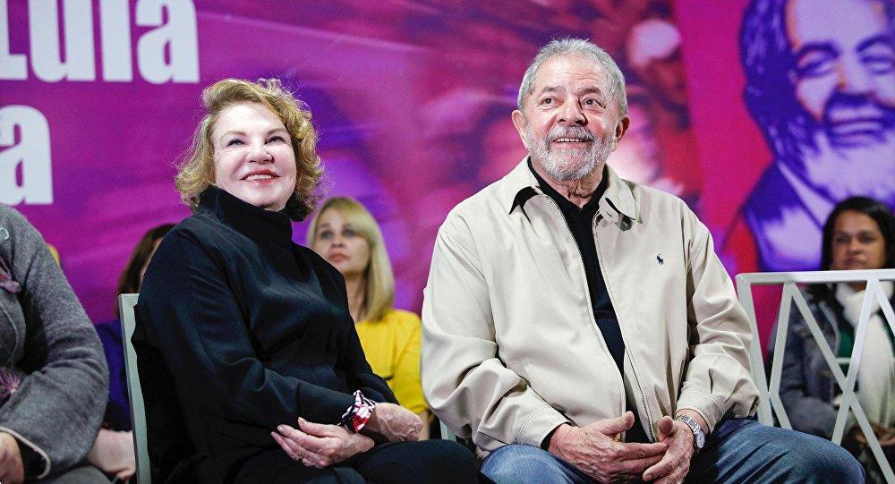 La esposa de Lula fue internada por un derrame cerebral