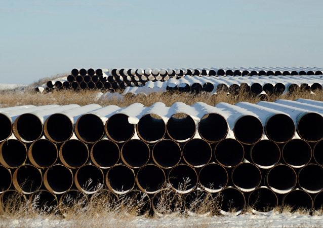 Construcción de oleoducto Keystone XL