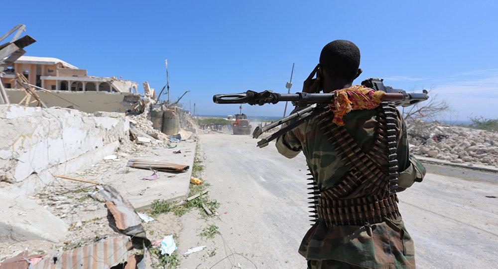 Un policía de Somalia (archivo)