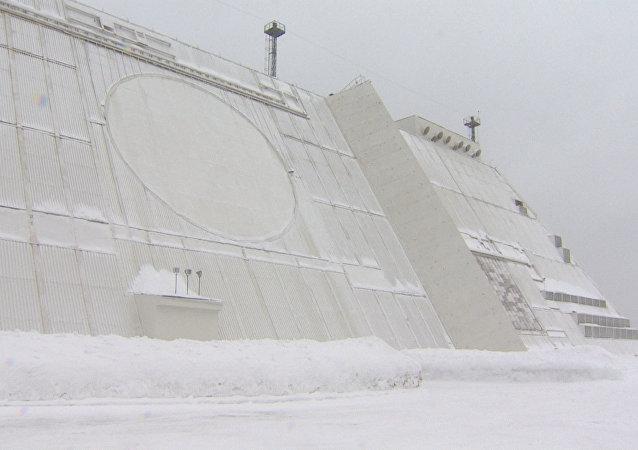 Esta es la estación de radar que protege a Moscú de los ataques con misiles balísticos