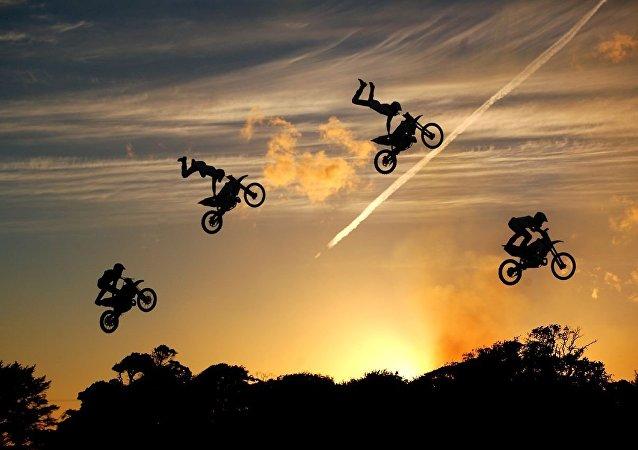 El motocross (archivo)