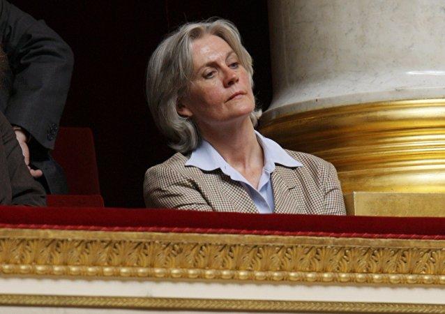 Penelope Fillon, mujer del candidato presidencial francés François Fillon (archivo)