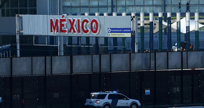 La frontera de EEUU con México