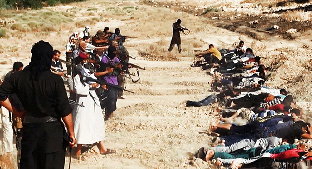Terroristas de Daesh (archivo)