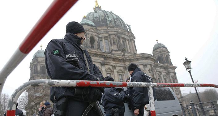 La Policía de Alemania