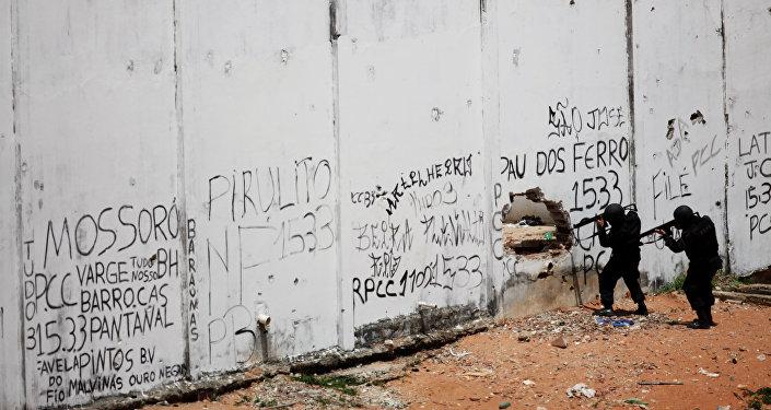 Cárcel de Alcacuz, en el estado brasileño de Río Grande del Norte