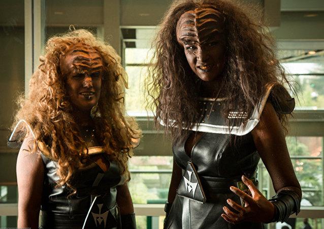 Las mujeres klingon (imagen referencial)