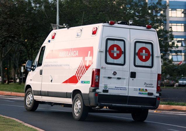 Ambulancia brasileña