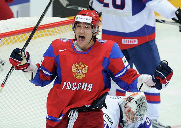 Alexandr Ovechkin, jugador de hockey ruso