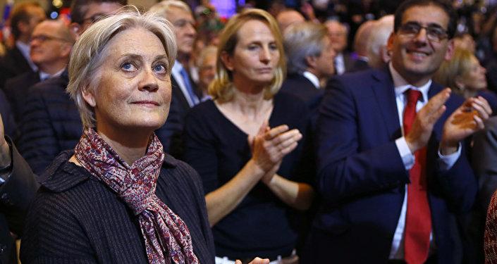 Penelope Fillon, la esposa del candidato presidencial de la derecha francesa, François Fillon