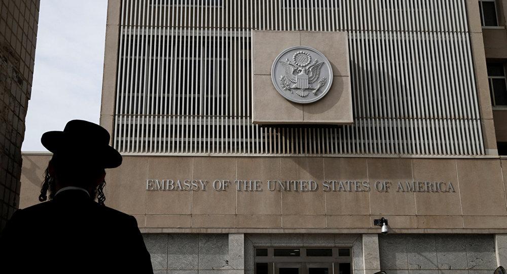 La embajada de EEUU en Israel (archivo)
