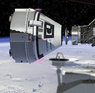 La nave espacial Starliner (imagen referencial)