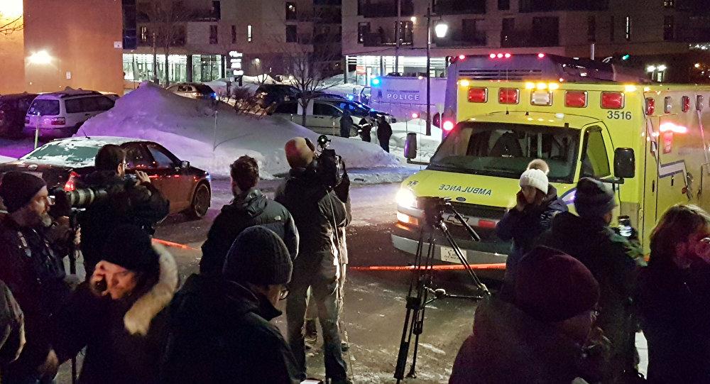 Un tiroteo en la mezquita de la ciudad de Quebec