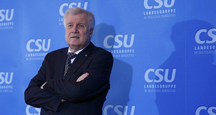 Horst Seehofer, el actual ministro federal del Interior de Alemania