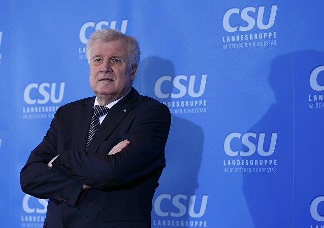 Horst Seehofer, el actual ministro federal del Interior de Alemania