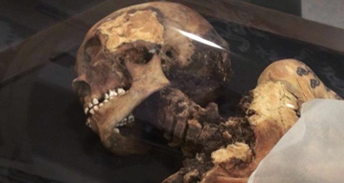 "La momia de la ""princesa de Altái"" regresa a casa"