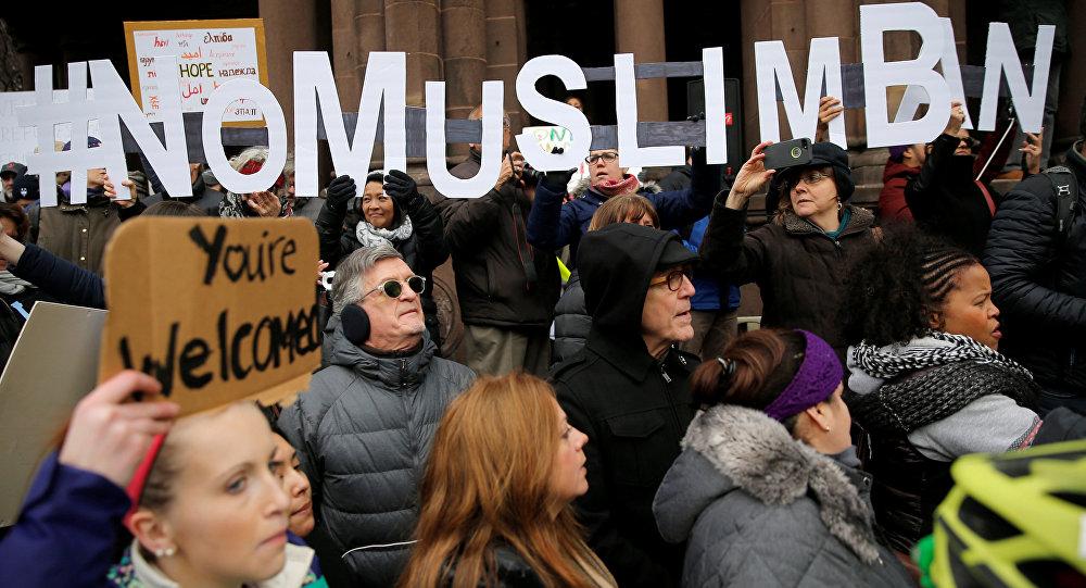Las protestas contra la política migratoria de Trump