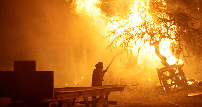 Incendios forestales en Chile