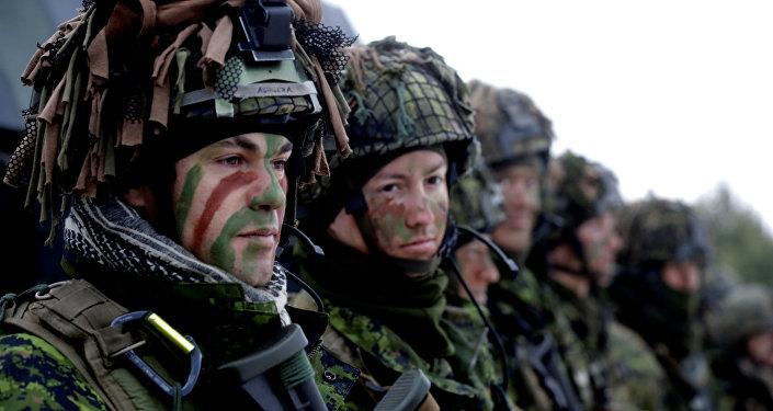 Las maniobras de la OTAN en Lituania (archivo)