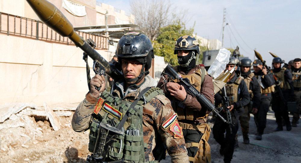 Fuerzas especiales iraquíes (archivo)