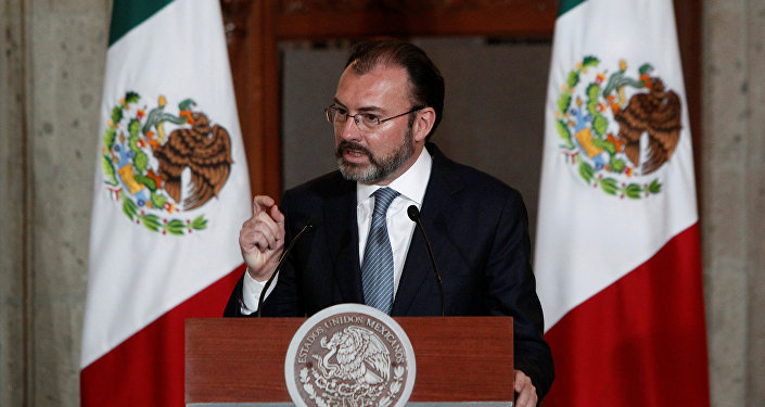 Luis Videgaray, el canciller mexicano